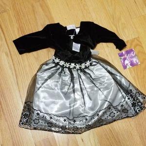 Blueberi Boulevard Dress for Infant/Toddler